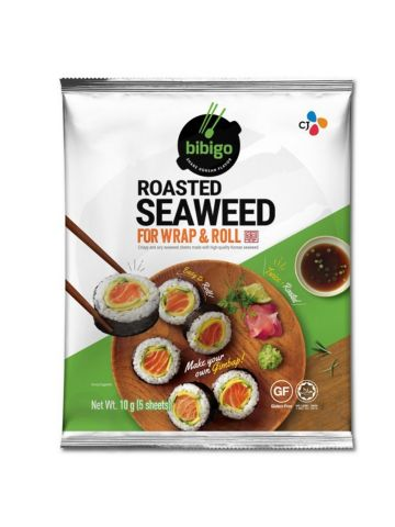 CJ BIBIGO Roasted Seaweed For Wrap and Roll 10g
