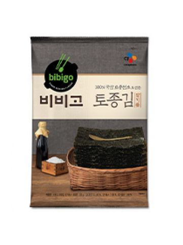 CJ BIBIGO Savory Roasted Korean-Style Seasoned Seaweed 20g