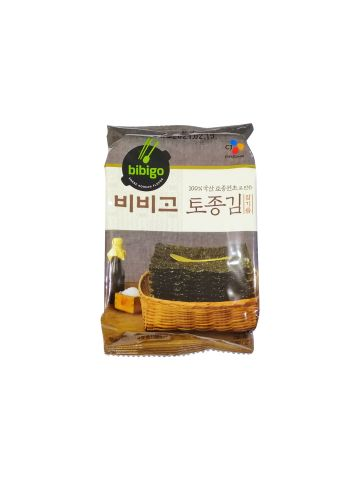 CJ BIBIGO Savory Roasted Korean-Style Seasoned Seaweed 5g