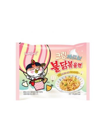 SAMYANG Creamy Carbo Spicy Chicken Ramen Instant Noodles 140g