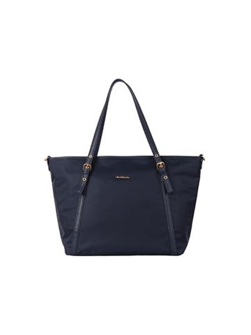 GNB Geun-Hye Plain Nylon Tote Bag (8560)