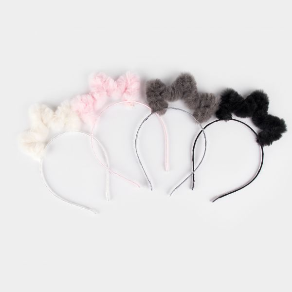 Crown Fur Headband