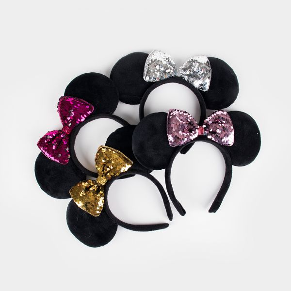 Minnie Mouse Headband (Sequined)