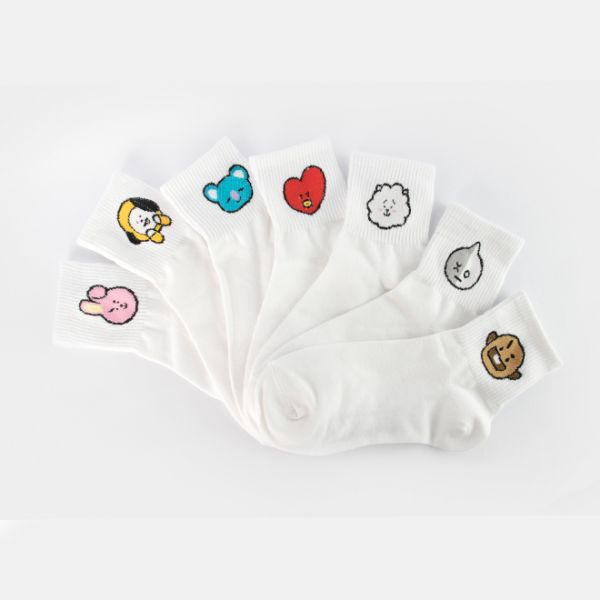 BT21 CHARACTER SOCKS (1)