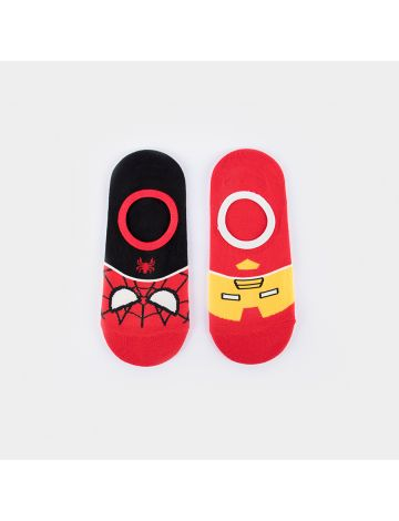 Marvel Superhero Foot Socks