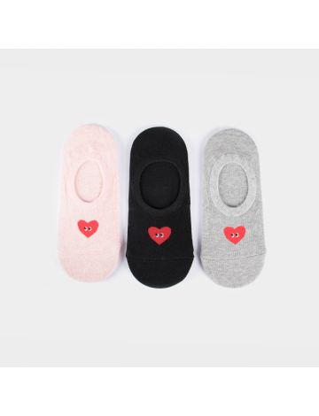 Dugeun-Dugeun Heart Foot Socks