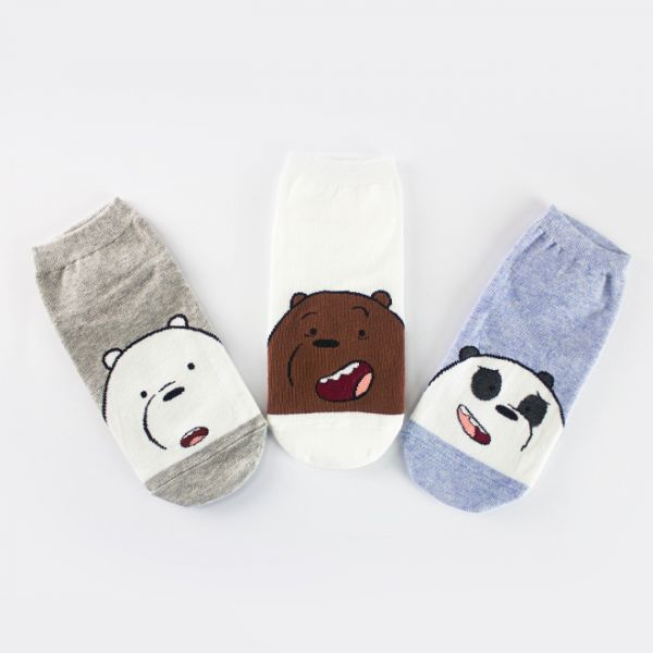 We Bare Bears Socks (1)