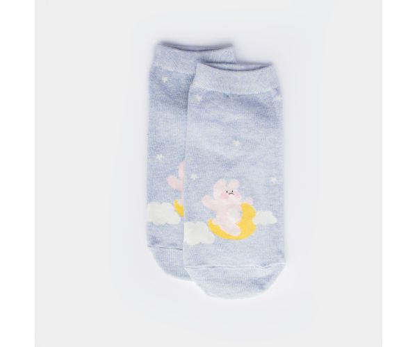 Kiss Socks Animal Clouds Women's Ankle Socks