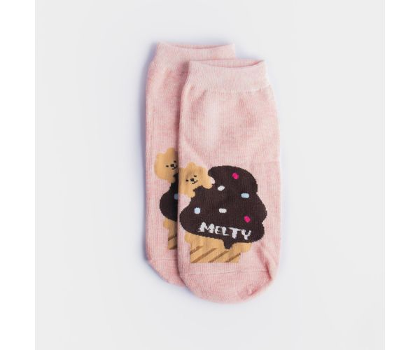 Kiss Socks Animal Foodies Women's Ankle Socks