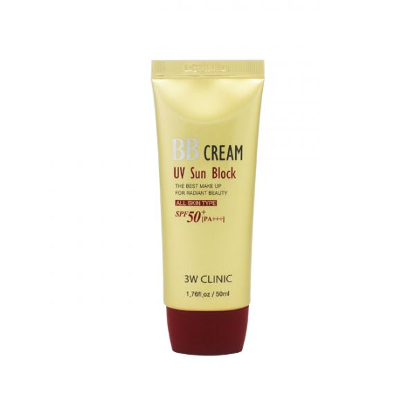 3W Clinic BB Cream (UV Sun Block)