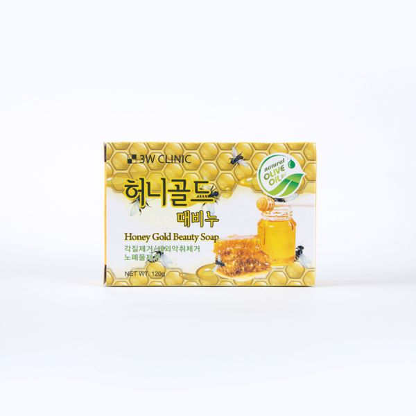 3W Clinic Honey Gold Beauty Soap