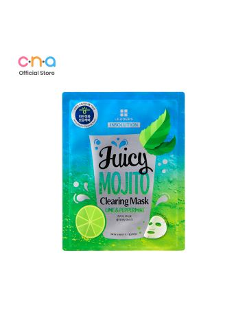 LEADERS Insolution Juicy Mojito Clearing Korean Mask Sheet 25ml