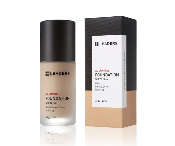 LEADERS [THE REAL DERMA COVER] AC Control Foundation