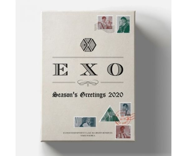 SM TOWN 2020 SEASON'S GREETINGS