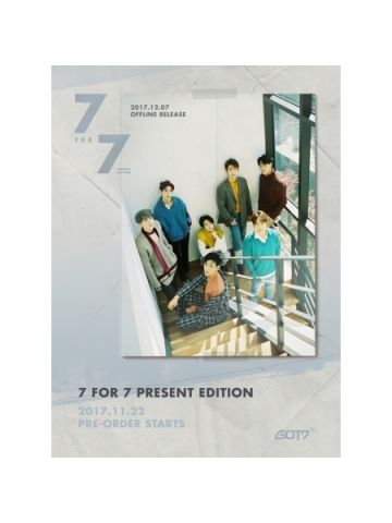 GOT7 - 7 FOR 7 PRESENT EDITION (STARRY HOUR/COZY HOUR VERSION)