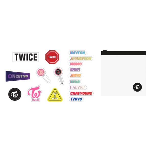 [TWICELIGHTS Goods] - Candy Bong Z Pouch Deco Sticker