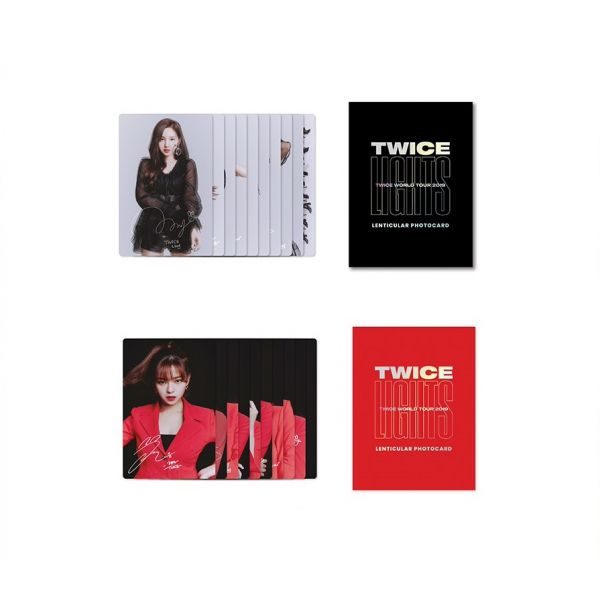 [TWICELIGHTS Goods] - Lenticular Photo Cards