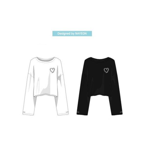 [TWICELIGHTS Goods] - TWICE Cropped T-shirt