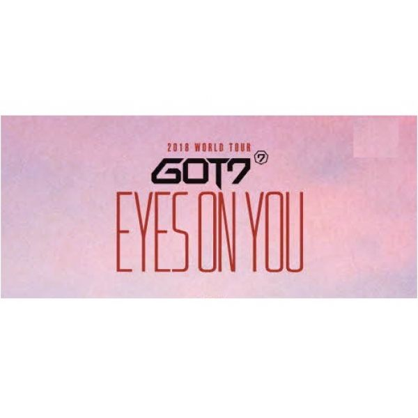 GOT7 - 2018 WORLD TOUR  'EYES ON YOU' DVD