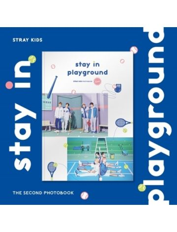 [BATCH 2] STRAY KIDS - 2ND PHOTOBOOK 'Stay in Playground'