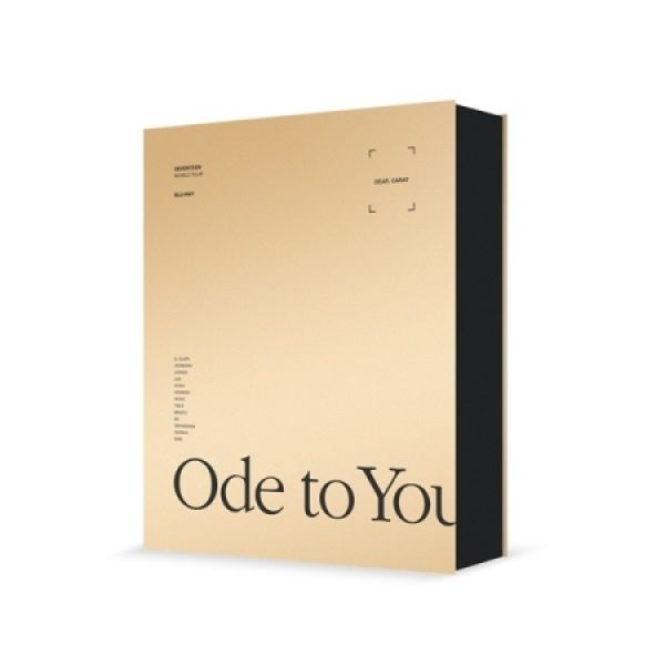 SEVENTEEN - WORLD TOUR  'ODE TO YOU' IN SEOUL BLU-RAY