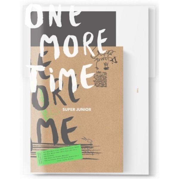 SUPER JUNIOR - SPECIAL MINI ALBUM 'ONE MORE TIME' (NORMAL EDITION)