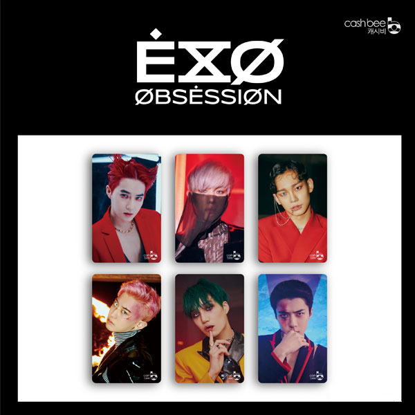 EXO - Cashbee Transportation Card (X-EXO VER.)