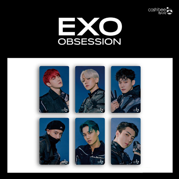 EXO - Cashbee Transportation Card (EXO VER.)