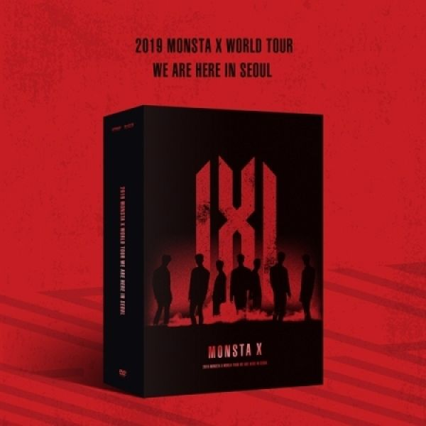 [BATCH 2] MONSTA X - 2019 WORLD TOUR  [WE ARE HERE] IN SEOUL DVD