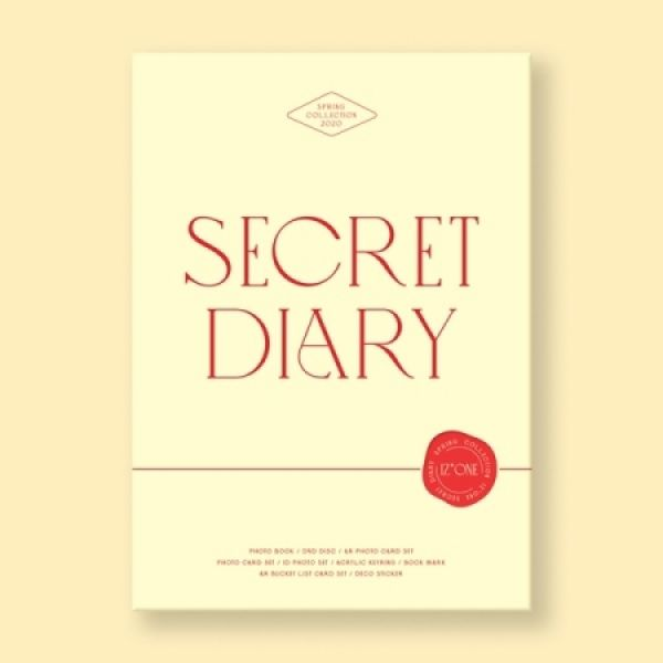 [BATCH 2] IZ*ONE - SECRET DIARY (PHOTOBOOK PACKAGE)