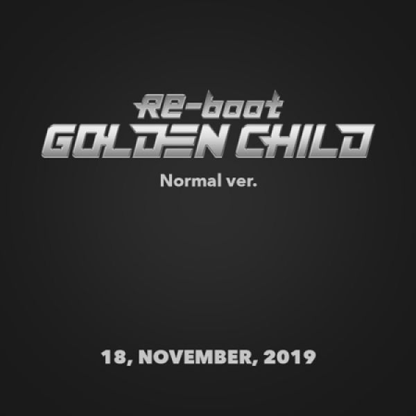 [BATCH 2] GOLDEN CHILD - RE-BOOT (NORMAL VER.)