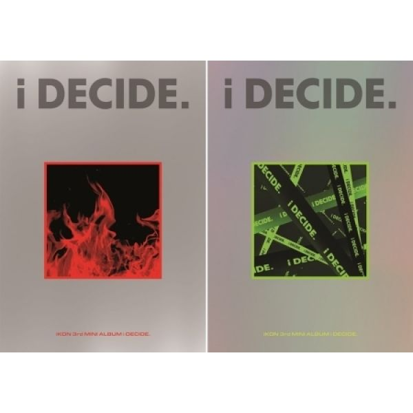 iKON - 3rd MINI ALBUM  [i DECIDE]