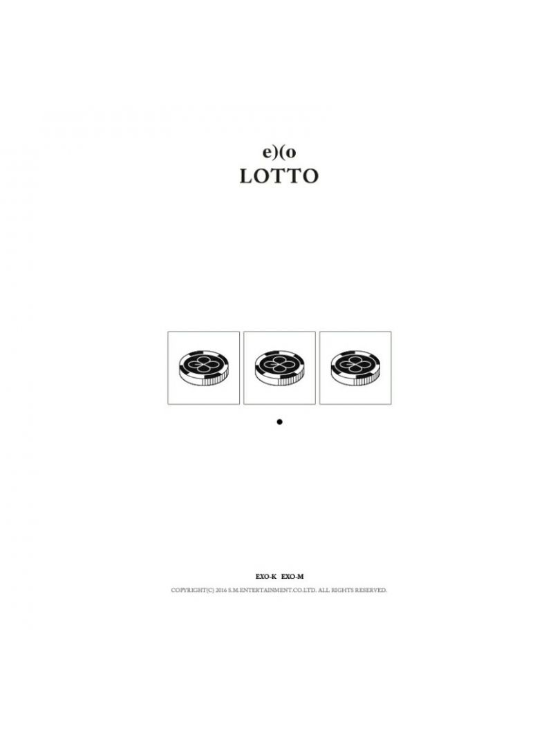 Exo Lotto 3rd Repackaged Album