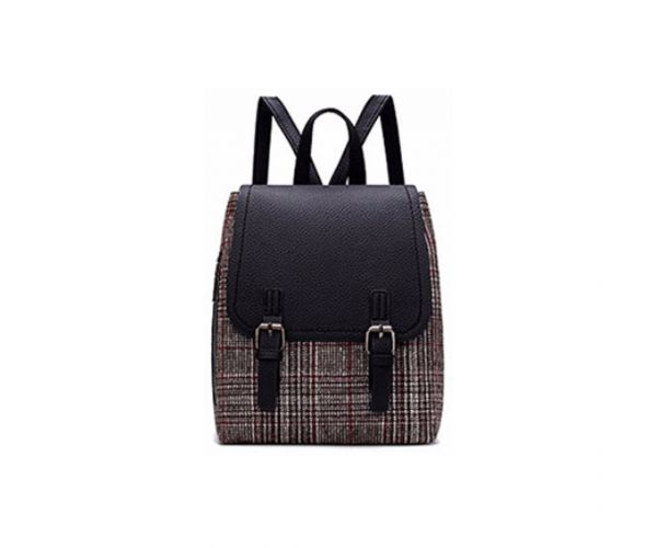 Giles N Brooks Mini Plaid Backpack (1063)