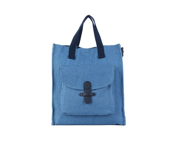 Giles N Brooks Denim Shopper Bag (534)
