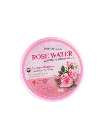 BARONESS Rose Water Whitening Soothing Gel