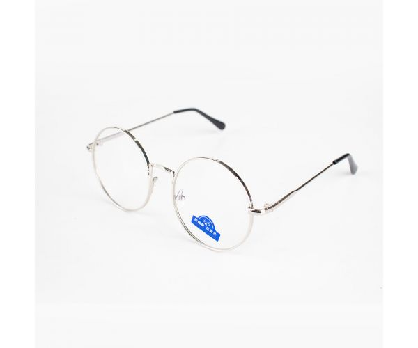 Chan Round Anti-Blue Light Eyeglasses (with Free Case & Cloth)
