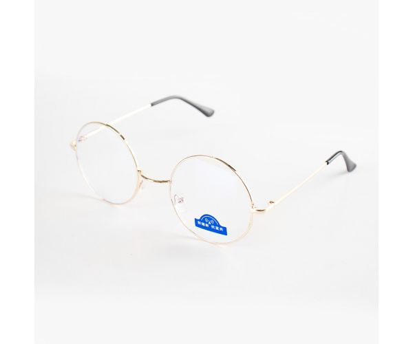 Hani Round Anti-Blue Light Eyeglasses (with Free Case & Cloth)