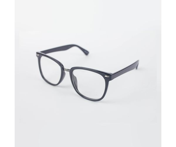 Moonbyul Black Square Eyeglasses (with Free Case & Cloth)