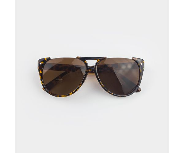 Mino Fashion Sunglasses (Leopard)
