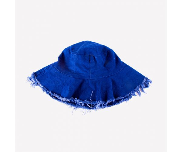 Jungmin Plain Soft Wide Brim Bucket Hat