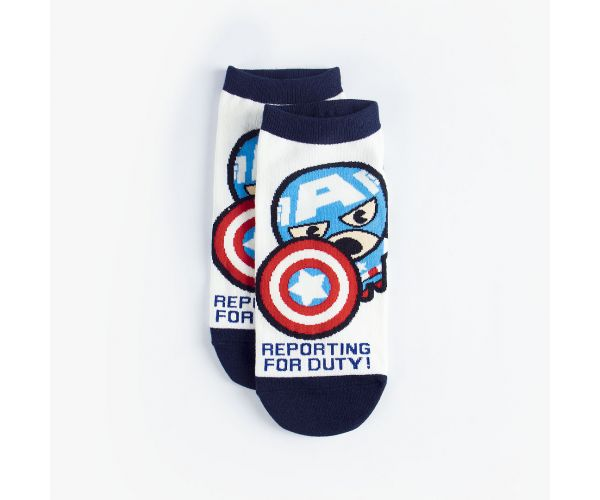 Disney Marvel Fighter Women's Ankle Socks