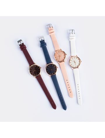 Sojin Ladies Fashion Watch (with Free Watch Case)