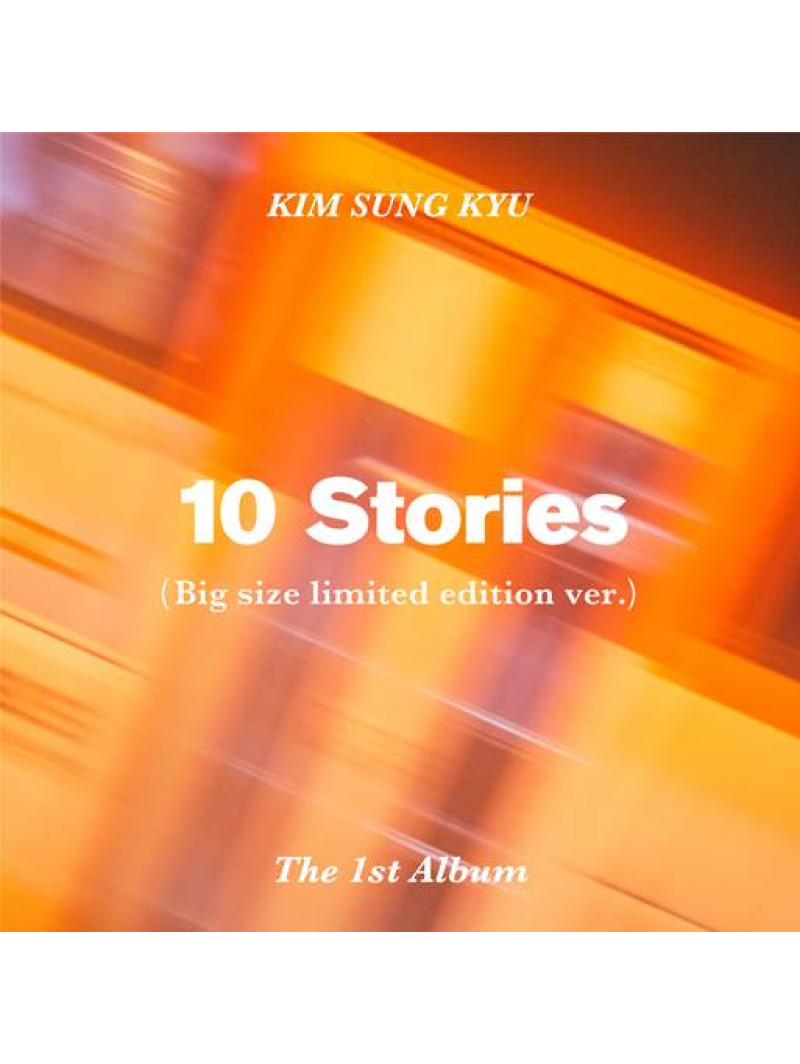 Kim Sung Kyu 10 Stories 1st Full Album Limited Ver