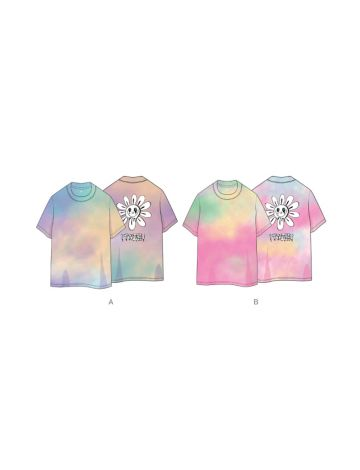 TWICE - Official Tie Dye T-Shirt (World In A Day)