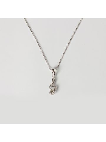 G-Clef Ball Chain Necklace