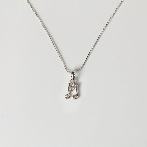 16th Note Ball Chain Necklace