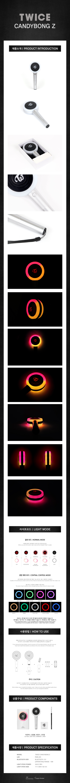 TWICE - Candy Bong Z (Official Lightstick)