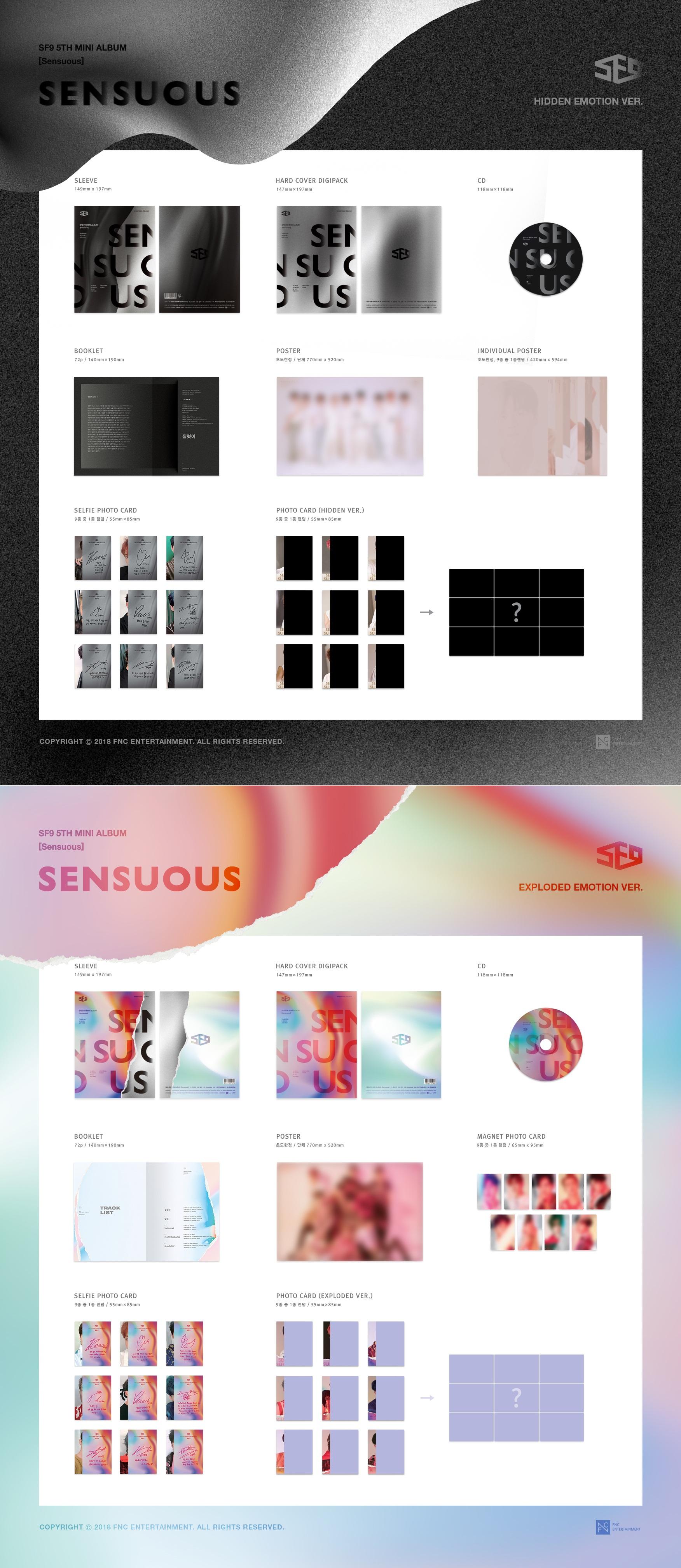 Image result for sf9 sensuous album
